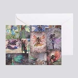 fairy all over t shirt Greeting Card