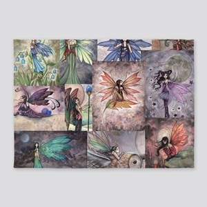 fairy all over t shirt 5'x7'Area Rug