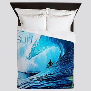Live To Surf Queen Duvet