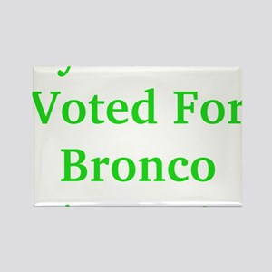 My Parents Voted For Bronco Bama Rectangle Magnet