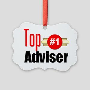 Top Adviser   Picture Ornament