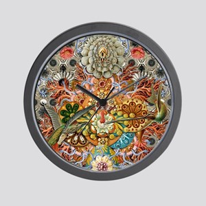 Forms of Nature 1 Wall Clock