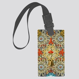 Forms of Nature 5 Large Luggage Tag