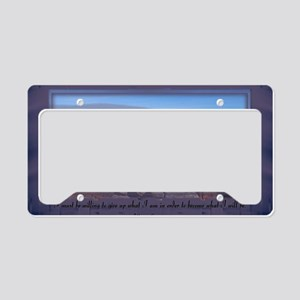 I Will Be 11 License Plate Holder