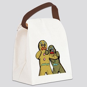 Gingerbread Zombies Canvas Lunch Bag