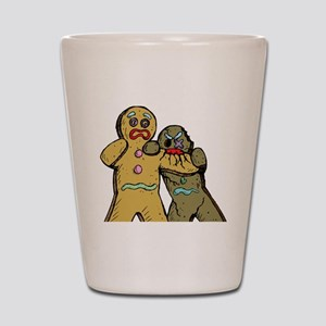 Gingerbread Zombies Shot Glass