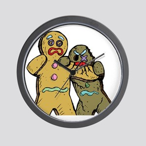 Gingerbread Zombies Wall Clock