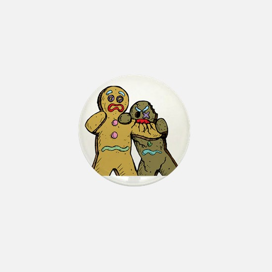 Gingerbread Zombies Mini Button