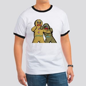 Gingerbread Zombies Ringer T