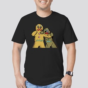 Gingerbread Zombies Men's Fitted T-Shirt (dark)