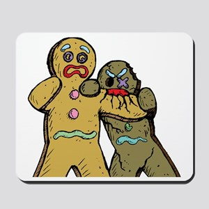 Gingerbread Zombies Mousepad