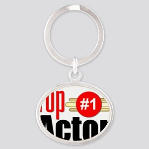 Top Actor Oval Keychain