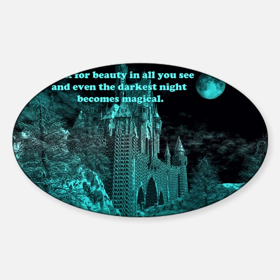 Magical 11 Sticker (Oval)