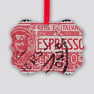Espresso Picture Ornament