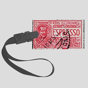 Espresso Large Luggage Tag