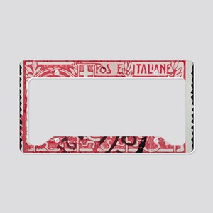 Espresso License Plate Holder