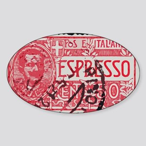 Espresso Sticker (Oval)
