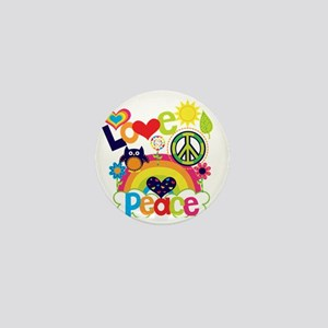 Love and Peace Mini Button