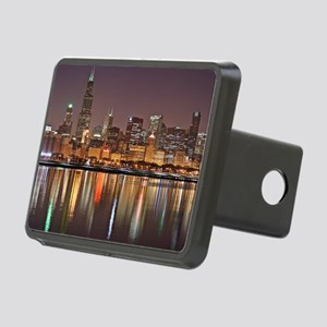 Chicago Reflected Rectangular Hitch Cover