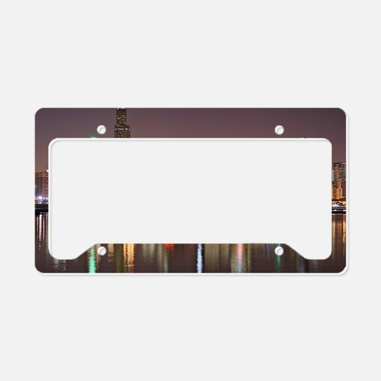 Chicago Reflected License Plate Holder
