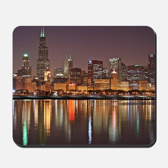 Chicago Reflected Mousepad