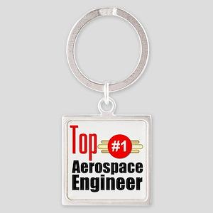 Top Aerospace Engineer   Square Keychain
