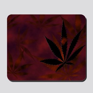 Weed Scatter Mousepad