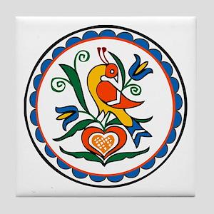 Distlefink Hex Tile Coaster