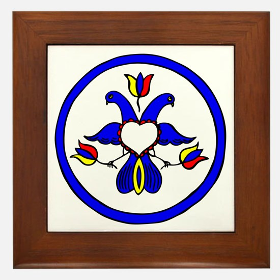 Double Eagle Hex Framed Tile