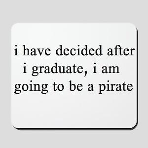 "NEW! Plain ""Pirate""  Mousepad"