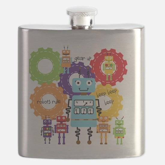 Robots Rule Flask