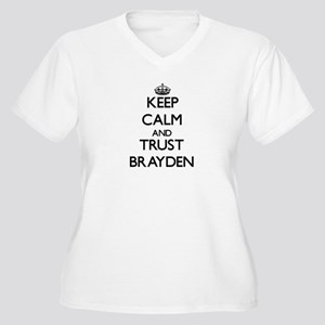 Keep Calm and TRUST Brayden Plus Size T-Shirt