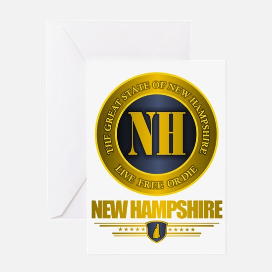 New Hampshire Gold Label Greeting Card
