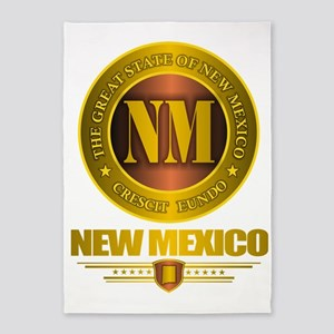 New Mexico Gold Label 5'x7'Area Rug