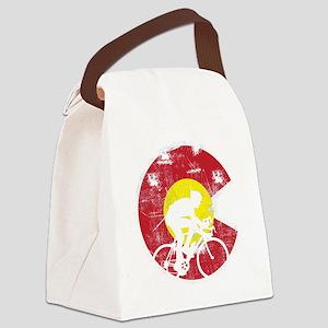 Bike Colorado Canvas Lunch Bag