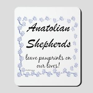 Anatolian Pawprints Mousepad