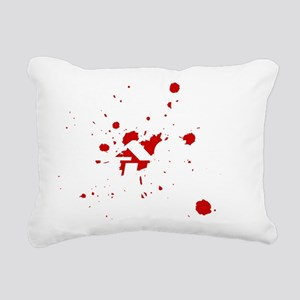 Phlebotomist Cage Fighte Rectangular Canvas Pillow