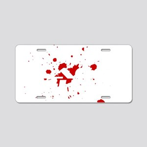 Phlebotomist Cage Fighter Aluminum License Plate