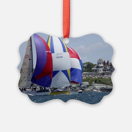 Newport Sailing Ornament