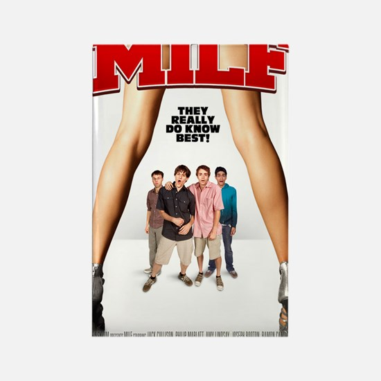 MILF Poster Rectangle Magnet