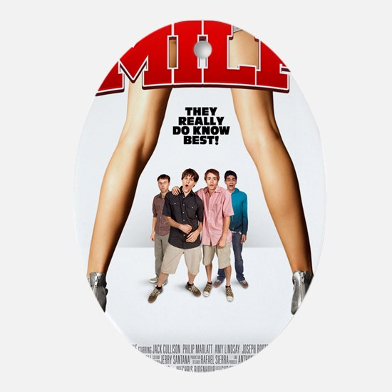 MILF Poster Oval Ornament