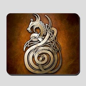 Norse Dragon Mousepad