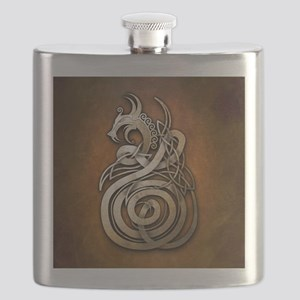 Norse Dragon Flask