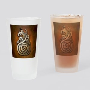 Norse Dragon Drinking Glass