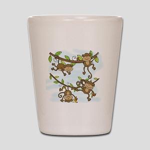 Monkey Shine Shot Glass