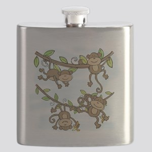 Monkey Shine Flask