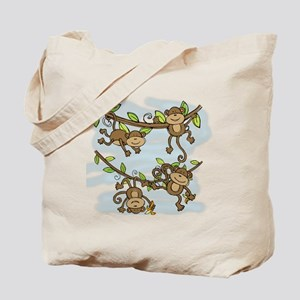 Monkey Shine Tote Bag