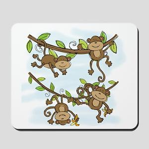Monkey Shine Mousepad