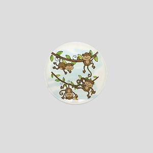 Monkey Shine Mini Button