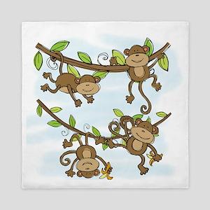 Monkey Shine Queen Duvet
